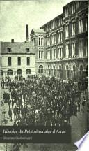 Histoire du Petit Séminaire d'Arras