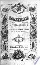 Histoire du Poitou. Hermine, avec notes