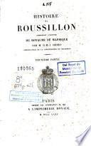 Histoire du Roussillon, comprenant l'hístoire du Royaume de Majorque, 2