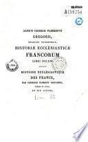 Histoire ecclésiastique des francs
