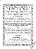 Histoire générale de Las Philipinas