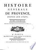 Histoire générale de Provence,
