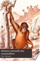 Histoire naturelle des mammifères