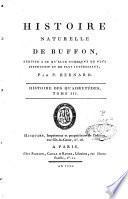 Histoire naturelle réduite à ce qu'elle contient de plus instructif et de plus intéressant par P. Bernard