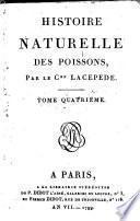 Histoire naturelle: t.1-14: Histoire naturelle des poissons (La Cépède; 1799-1804)(14 t.)