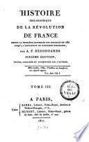 Histoire philosophique de la révolution de France