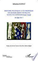 Histoire politique et économique du dessin animé français sous l'occupation (1940-1944)