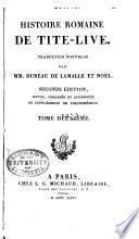 Histoire romaine de Tite-Live: Livre 3-4