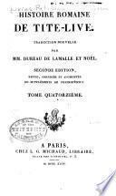 Histoire romaine de Tite-Live: Livre 41-44