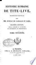 Histoire romaine de Tite-Live: Livre 5-7