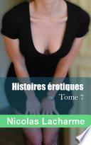 Histoires érotiques, tome 7