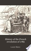 History of the French Revolution of 1789