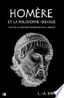 Homère et la philosophie grecque