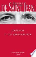 Journal d'un journaliste
