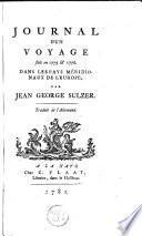 Journal d'un voyage fait en 1775 & 1776, dans les pays méridionaux de l'Europe