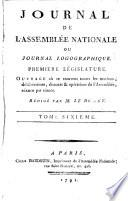 Journal de l'Assemblée nationale, ou Journal logographique