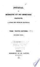 Journal de médecine et de chirurgie pratiques