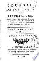 Journal de Politique et de Littérature