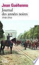 Journal des années noires (1940-1944)