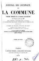 Journal des journaux de la Commune, tableau résumé de la presse quotidienne du 19 mars au 24 mai 1871 [ed. by L.M.].