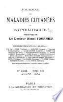 Journal des maladies cutanées et syphilitiques