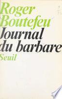 Journal du barbare