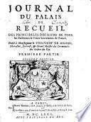 Journal du palais, ou recueil des principales décisions de tous les parlemens & cours souveraines de France