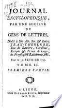 Journal encyclopédique ou universel