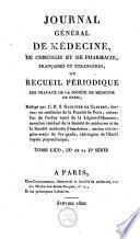 Journal général de médecine, de chirurgie et de pharmacie françaises et étrangères