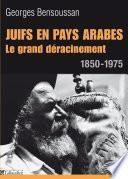 Juifs en pays arabes. Le grand déracinement 1850-1975