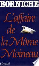 L'affaire de la môme Moineau