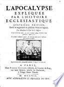 L' Apocalypse expliquée par l'histoire ecclesiastique