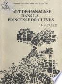 L'art de l'analyse dans La Princesse de Clèves