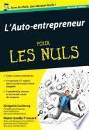 L'auto-entrepreneur Pour les Nuls, 2e édition