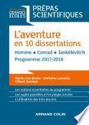 L'aventure en 10 dissertations - Prépas scientifiques 2017-2018