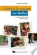 L'école à la maison au Québec