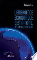 L'émergence économique des nations