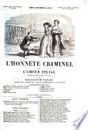 L'honnête criminel, ou L'amour filial drame en cinq actes, en vers par Fenouillot de Falbaire