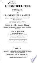 L'horticulture française, ou le jardinier amateur