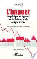 L'impact des politiques du logement sur les bailleurs privés de 1914 à 2014