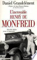 L'incroyable Henry de Monfreid