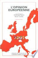 L'opinion européenne 2001