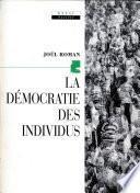 La Démocratie des individus