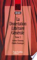 La Dissertation littéraire générale
