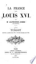 La France sous Louis XVI