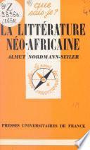 La littérature néo-africaine