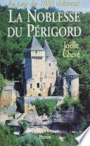La Noblesse du Périgord