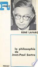 La philosophie de Jean-Paul Sartre