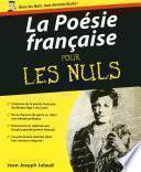 La Poésie française Pour les Nuls