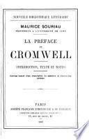 La préface de Cromwell